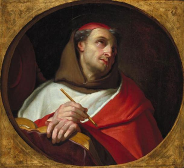 Saint Bonaventure is the most famous person from Civita di Bagnoregio. (Tetraktys / Public Domain)