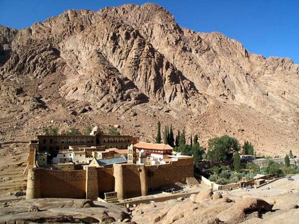 Saint Catherine's Monastery on the Sinai Peninsula in Egypt