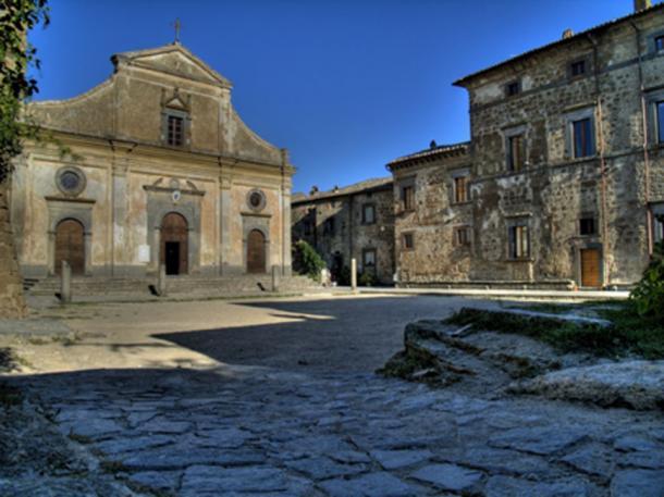 San Donato Church in Civita di Bagnoregio . (Croberto68 / CC BY-SA 2.0)