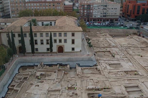 The San Esteban archaeological site, Murcia, Spain.