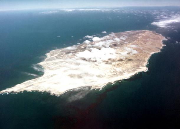 San Nicolas Island, in the Pacific off the coast of California.