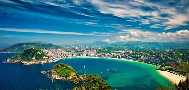 Shot from San Sebastian in modern day Basque Country. (Horváth Botond / Adobe stock)