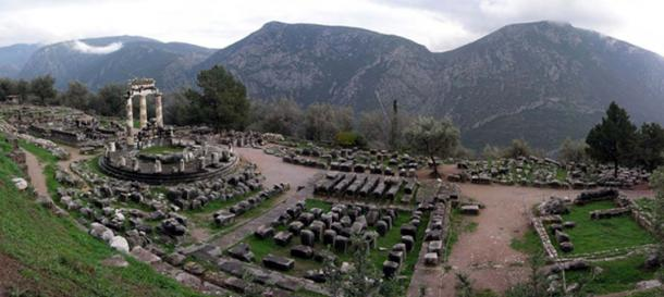 Sanctuary of the Delphic Oracle