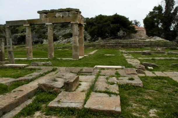 Sanctuary to Artemis at Brauron. (Nefasdicere/CC BY SA 3.0)