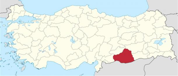 The province of Sanliurfa in Turkey