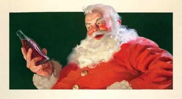 Santa has a part-time stint in marketing.