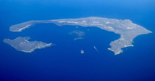 The Santorini Caldera. Photo Source: