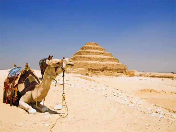 Regarded as one of the most important archaeological areas in Egypt, the Saqqara archaeological zone is home to hundreds of elaborate royal tombs with walls blazoned in magnificently colorful inscriptions, including the step pyramid complex of Djoser. (José Ignacio Soto / Adobe Stock Photo)