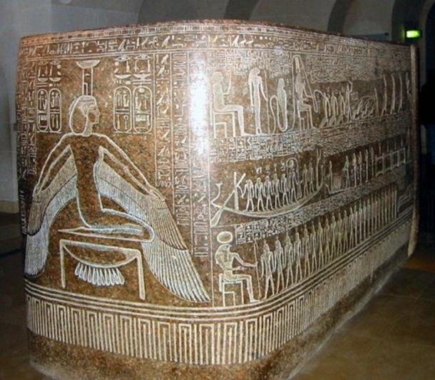 Sarcophagus box of Ramesses III.