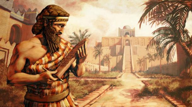 Sargon was supposed to deliver a clay tablet to the king of Uruk. (LordGood/Deviant Art)