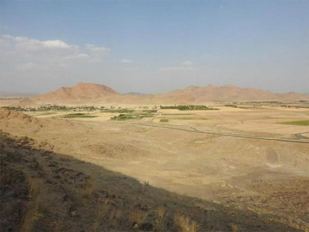 Sarkubeh village [Markazi province], the closest human habitation to the petroglyph site. (Mr Mahmood Kolnegari / CC BY 4.0)
