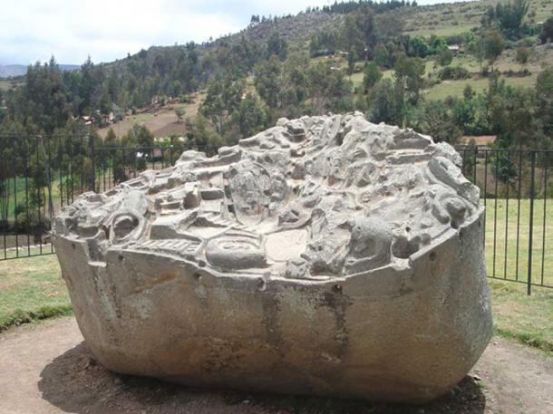 The Sayhuite monolith.
