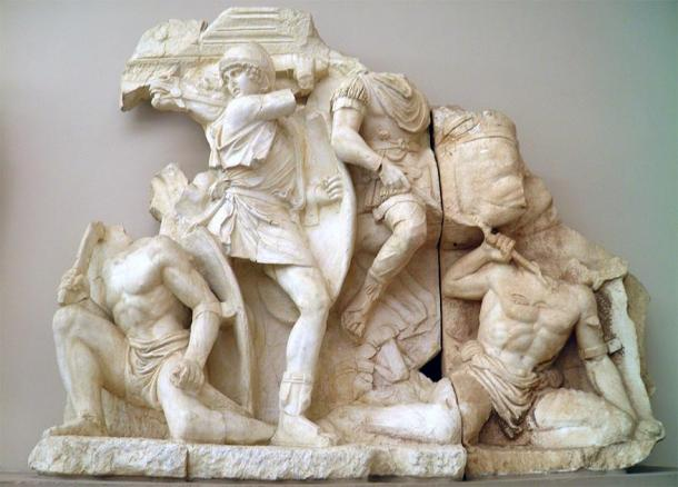Scene from the war of Marcus Aurelius and Lucius Verus against the Parthians. (Carole Raddato / CC BY-SA 2.0)
