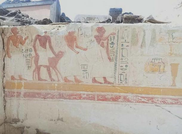 Scenes of daily life. (Egyptian Ministry of Antiquities)