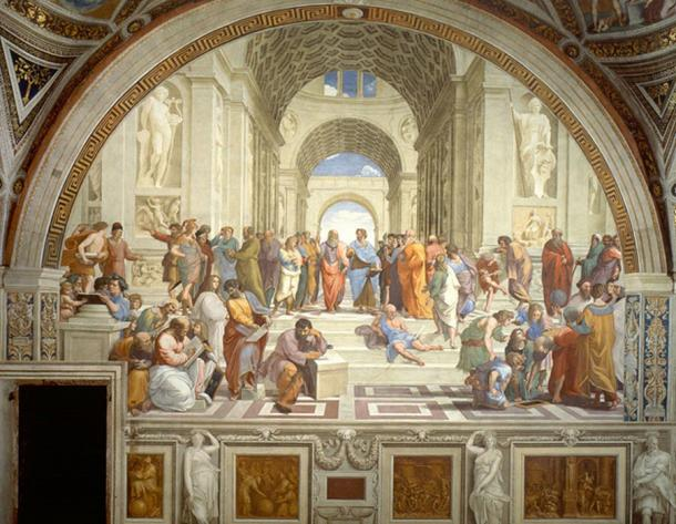 The School of Athens.