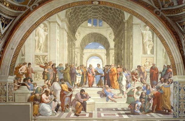 Raphael's 'School of Athens'.