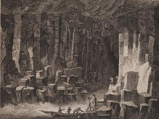 Scotia Depicta - Fingal's Cave.