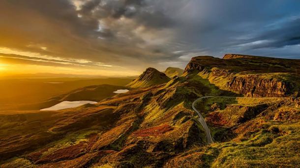 The Scottish Highlands (public domain)