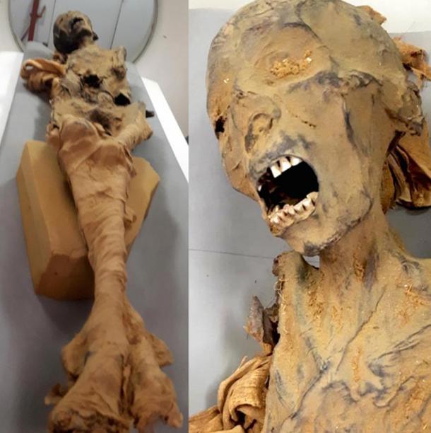 The Screaming Woman Mummy