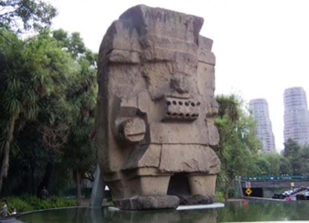 Sculpture of Aztec god Tlaloc in Mexico. (Rene G EG / CC BY-SA 2.0)