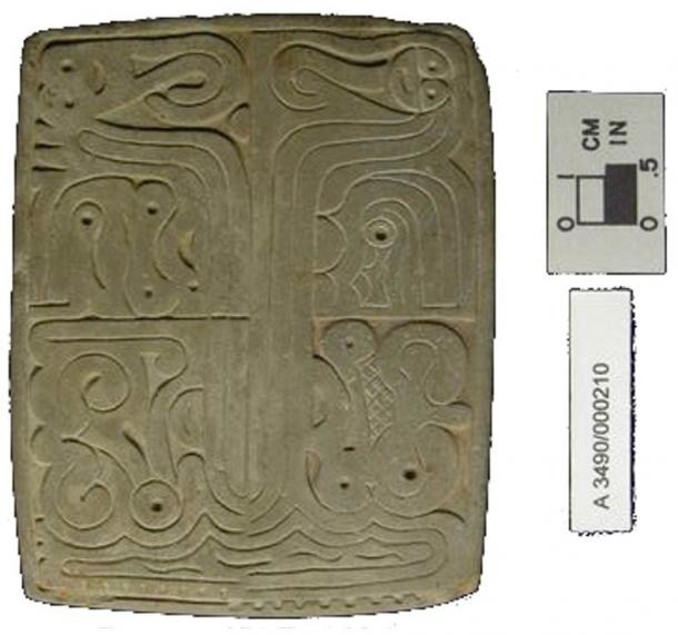 Printing Seal from the Adena Culture.