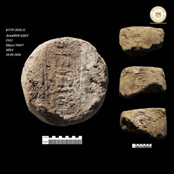 Seals found at the Lost Golden City confirm it was active during the reign of Amenhotep III. (Ministry of Tourism and Antiquities)