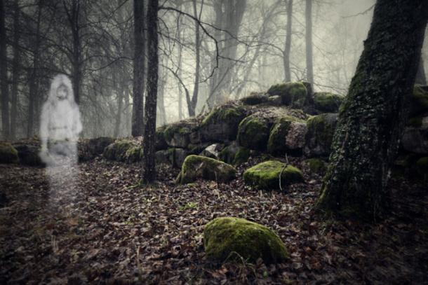 Searching for lost animals, Scandinavian women feared the forest spirits. (Vitalez / Adobe)