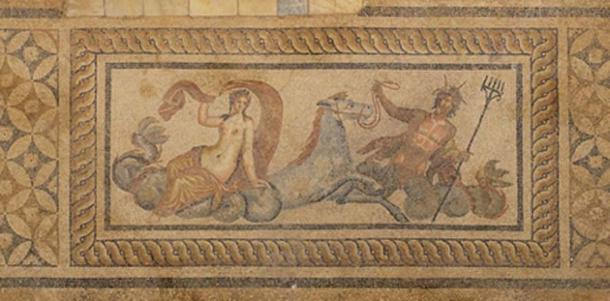 Second Century Nereid Mosaic From Hillside Houses of Ephesus ( CC BY-SA 2.0)