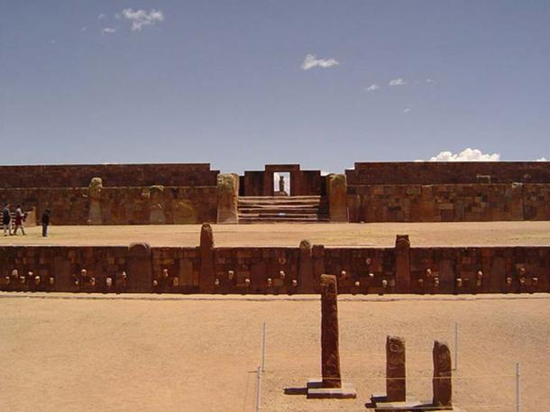 Section of Kalasasaya temple of the pillars. (CC BY 2.0)