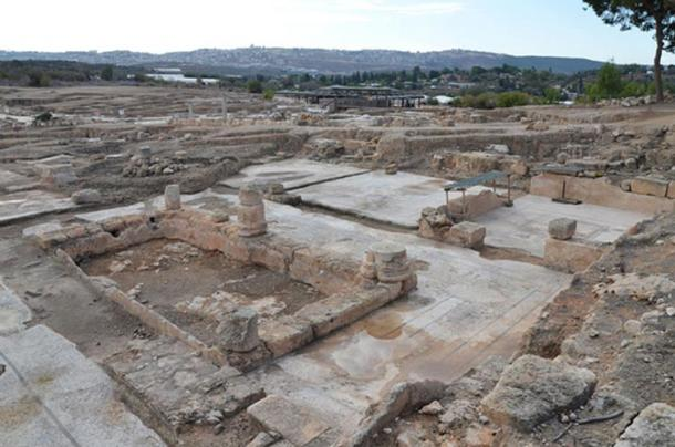 The ancient site of Sepphoris