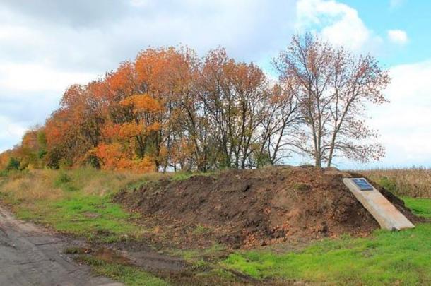 Serpent's Wall near the village of Denisi, Pereiaslav-Khmelnytskyi Raion.