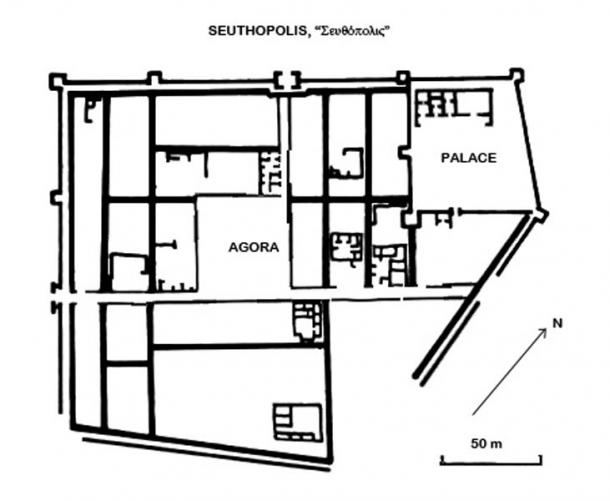 Seuthopolis city plan.