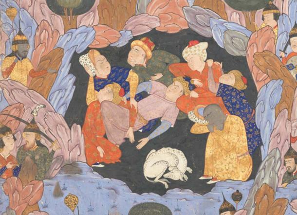 The Seven Sleepers were guarded by a Watchdog