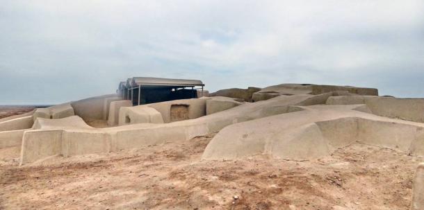 Shahr-e Sukhteh after excavations