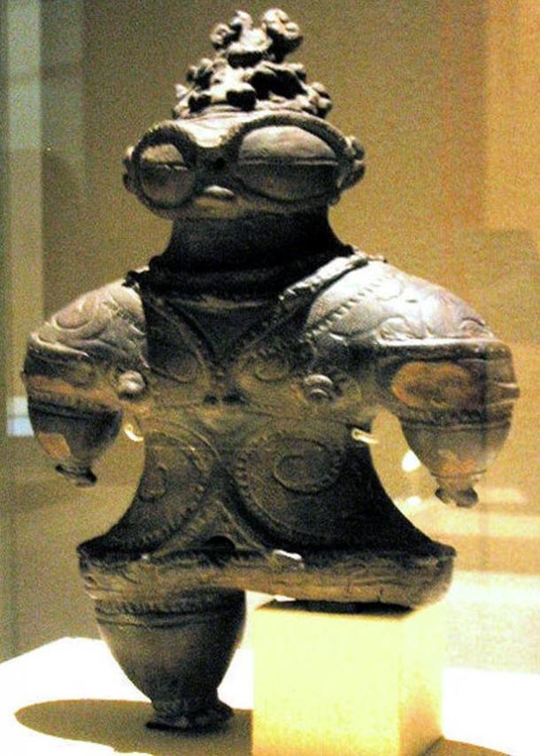 Unknown, Shakōki-dogū, 1000-400 BCE. Tokyo National Museum, Japan.