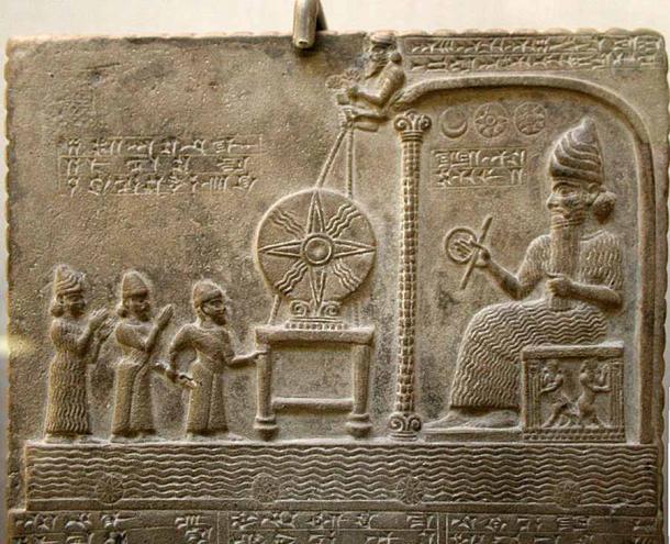 Shamash was the Mesopotamian sun-god (Prioryman / CC BY-SA 4.0)