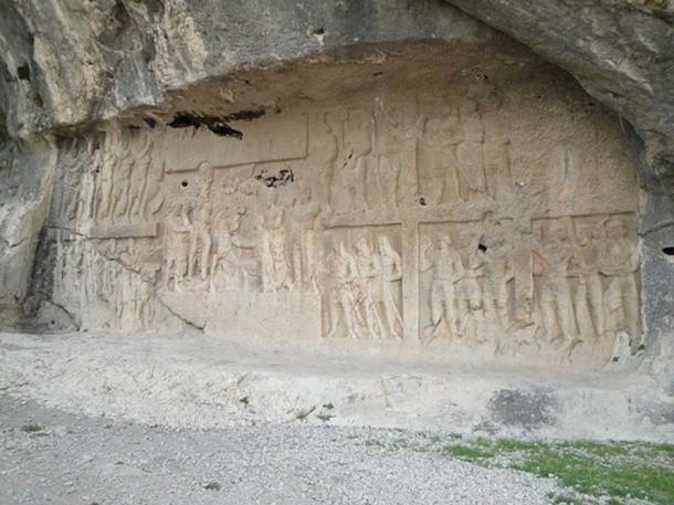 Shapur's Triumph over Valerian in Bishapur.