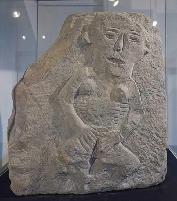 Sheela na Gig, Llandrindod Wells Museum (Celuici / CC BY-SA 4.0)
