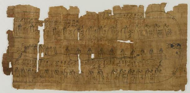 Sheet from a Book of the Dead. (Alonso de Mendoza / Public Domain)