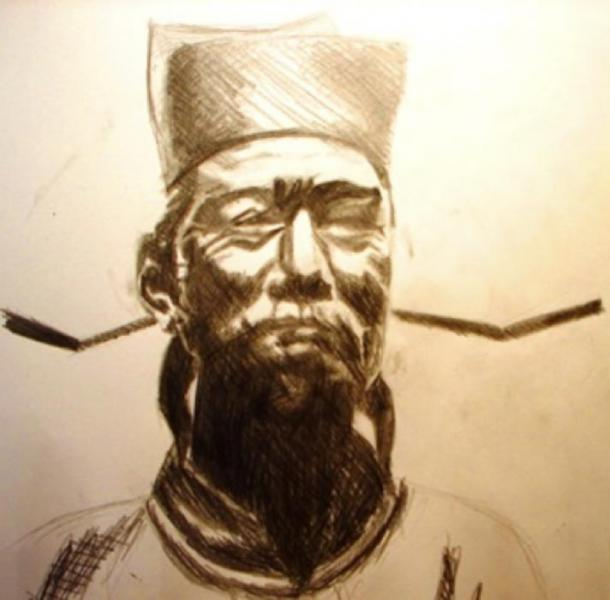 """Shen Kuo (1031-1095 A.D.) Chinese scientist, author of writings on Chinese """"magic"""" mirrors (CC BY-SA 3.0)"""