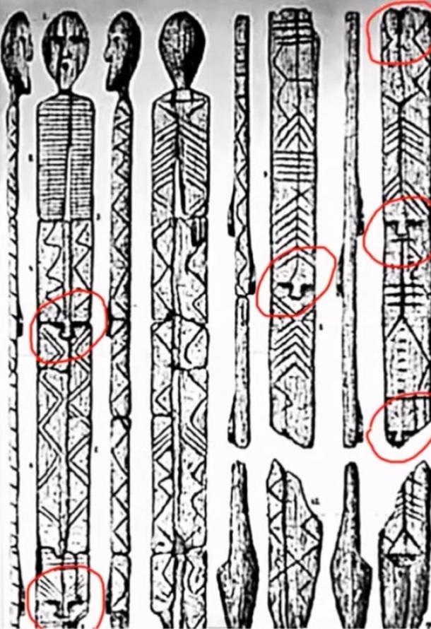 Does the Shigir Idol contain coded messages?