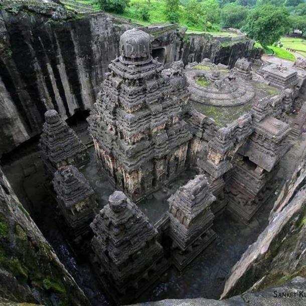 Shikhara, Kailasah temple. (Sanket901/CC BY SA 4.0)