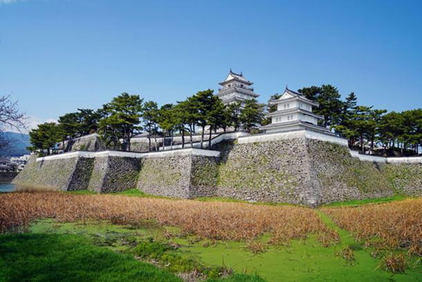 Shimabara castle, where Christians were tortured
