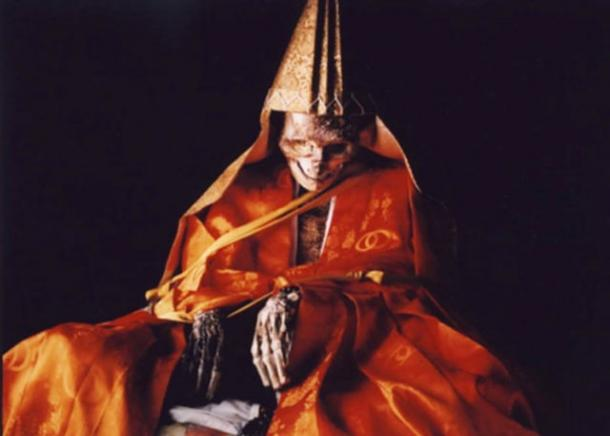 Shinnyokai Shonin of the Dainichi-Boo Temple on the holy Mount Yudono