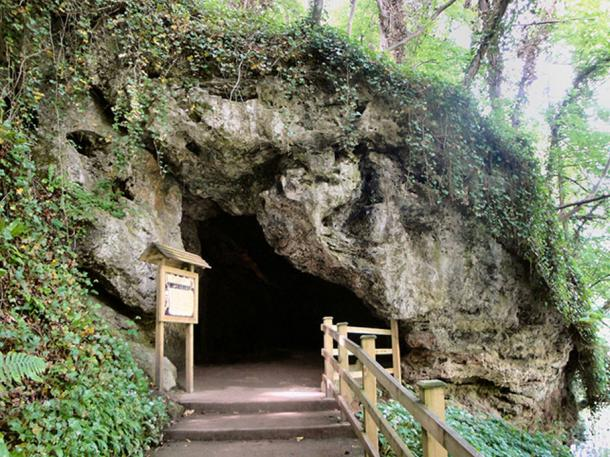 Mother Shipton's cave.