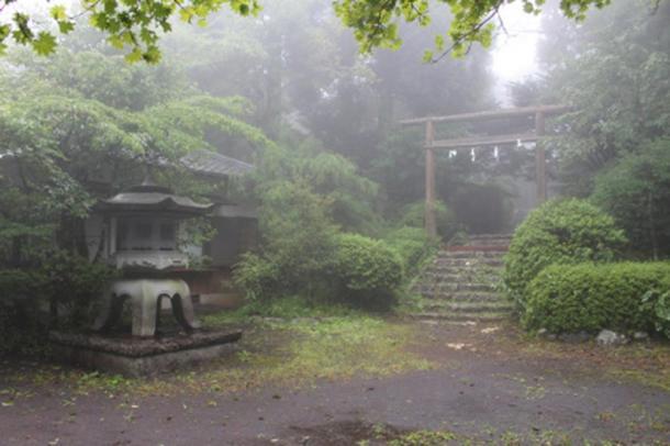 The Tenshou-Kyousha Shrine in Fujinomiya.