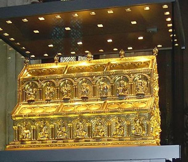 Shrine of the Three Kings, Cologne Cathedral, Germany