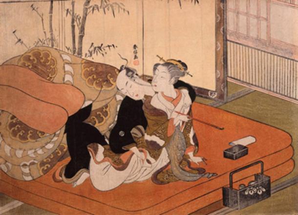 Shun-ga exhibition Tokyo 2015. (CFCF / Public Domain)