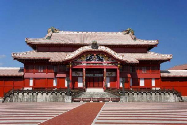 Shuri Castle in Naha, Okinawa, Japan, 2011. (CC BY 2.5)