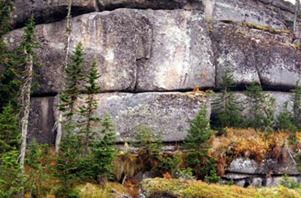 Siberian megaliths hewn from granite. (Author provided)